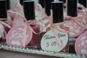 It's a girl thank you tags made these very inexpensive gifts look special.