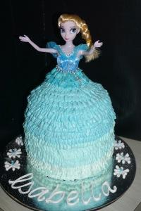Elsa Frozen Doll cake