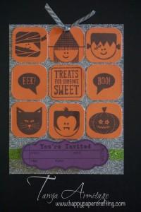 Halloween invite.