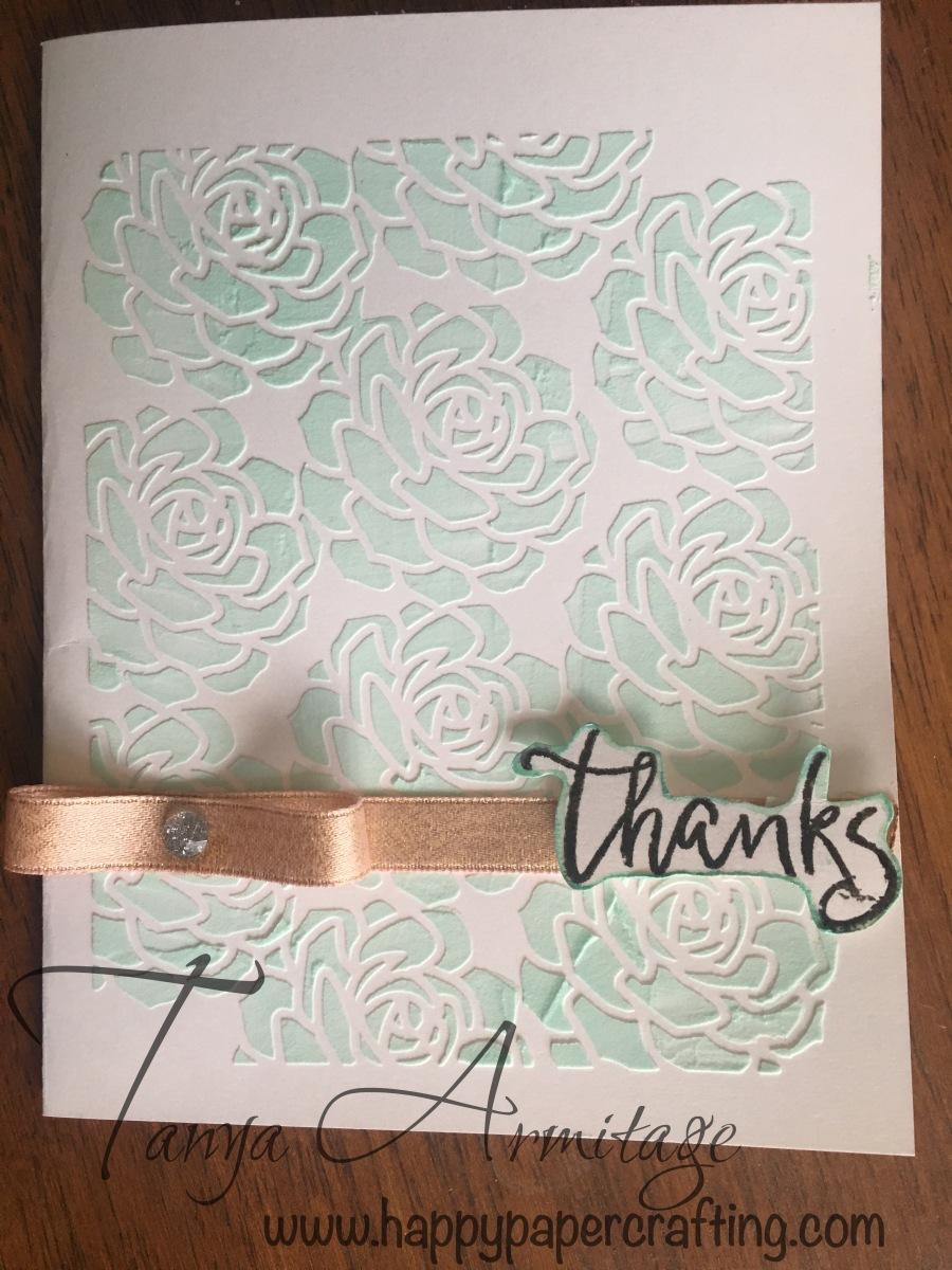 Succulent Texture Paste Card